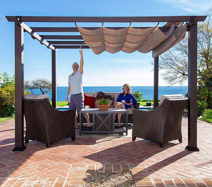 Using Insulated Pergola Roofing To Stay Cool In Summer