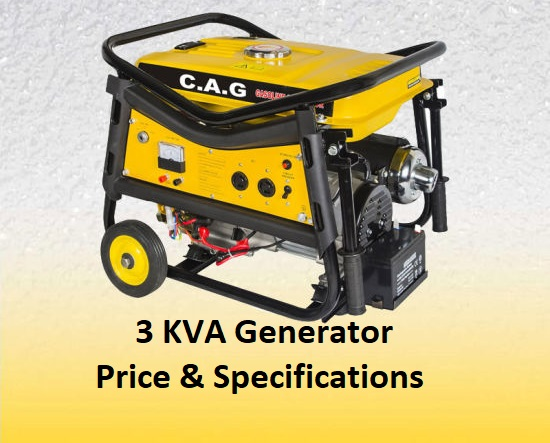 3 kVA Generator Price In India