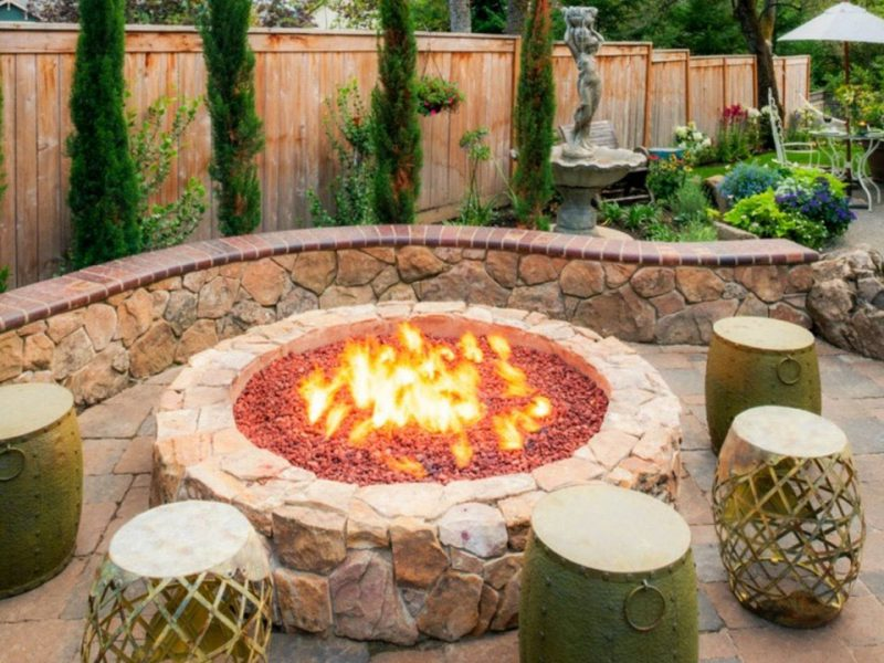 Ideas to Use When Building Backward Fire Pit