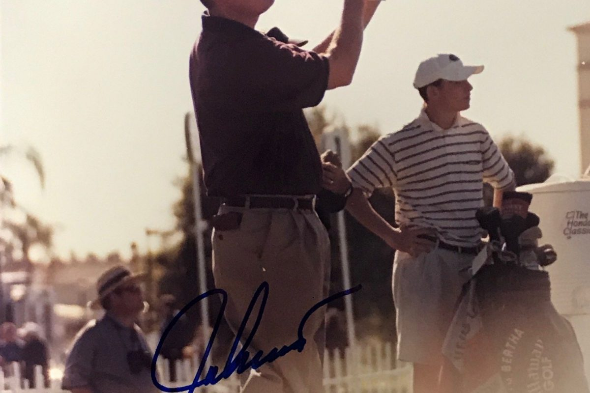 Is it worth investing in authentic signed golf memorabilia?