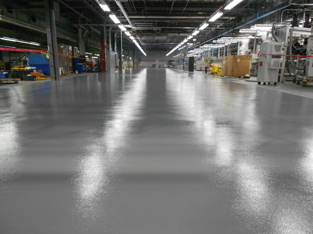 What Are The Benefits Of Industrial Concrete Flooring?
