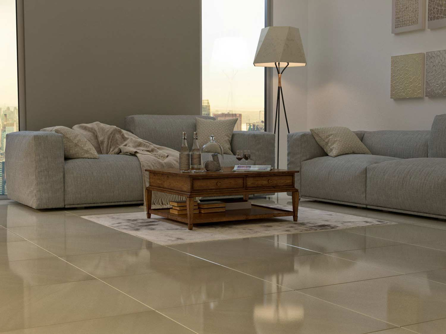 A Complete Guide To Polished Porcelain Tile