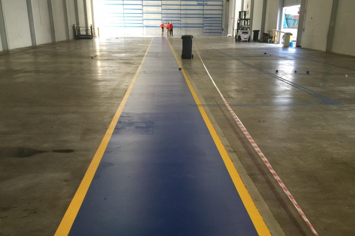 warehouse line marking in Sydney
