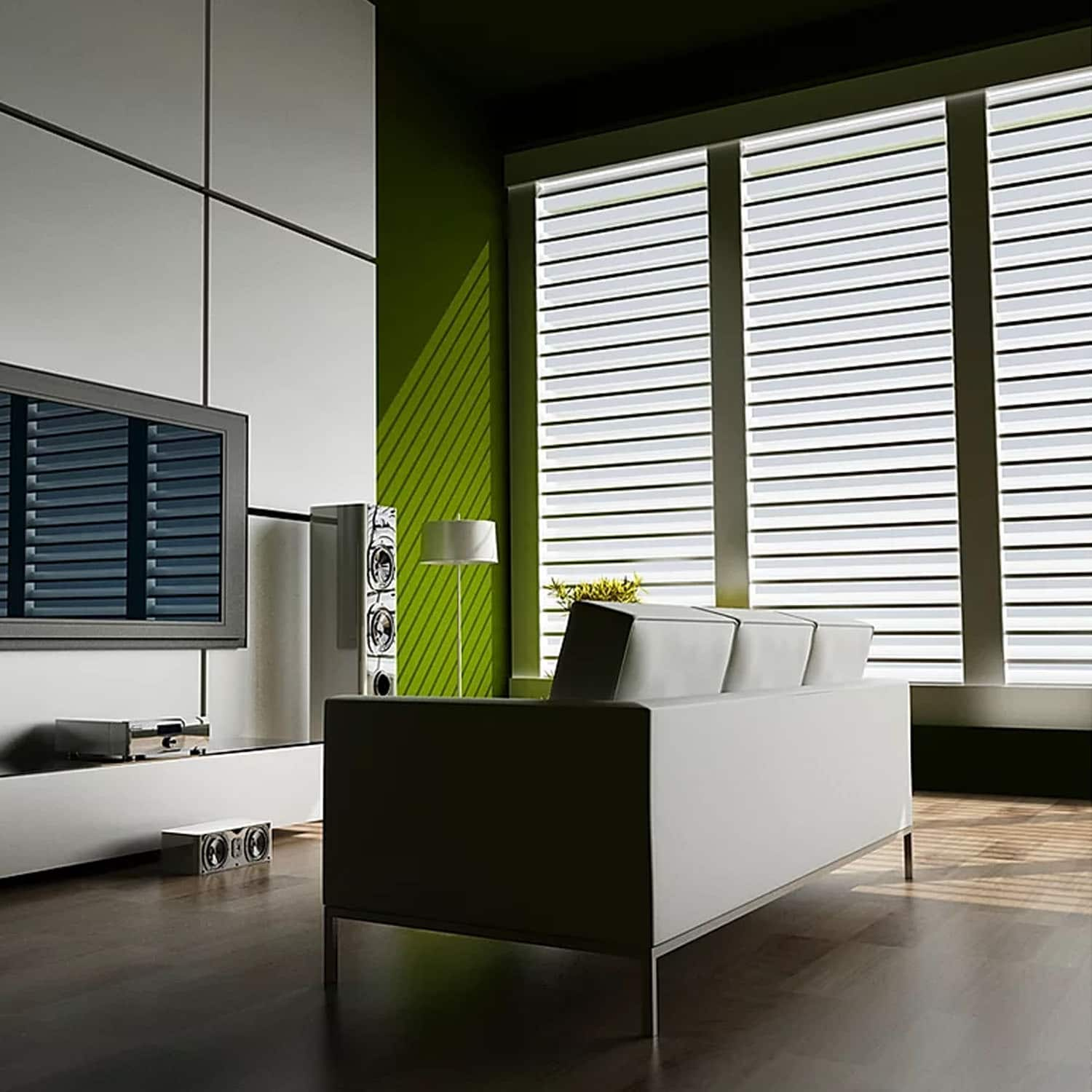 A Beautiful Artistic Appearance With Blinds And Curtains: Here's How!
