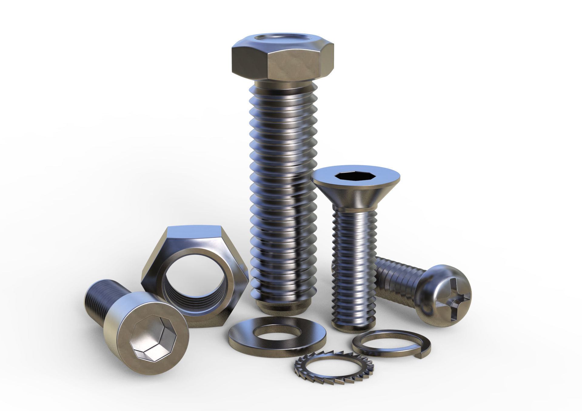 Different Types of Inconel 600 Bolts and Nuts